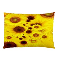 Beautiful Sunflowers Pillow Case (two Sides)
