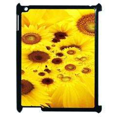 Beautiful Sunflowers Apple iPad 2 Case (Black)