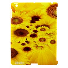 Beautiful Sunflowers Apple iPad 3/4 Hardshell Case (Compatible with Smart Cover)