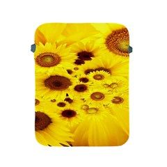 Beautiful Sunflowers Apple iPad 2/3/4 Protective Soft Cases