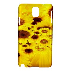 Beautiful Sunflowers Samsung Galaxy Note 3 N9005 Hardshell Case