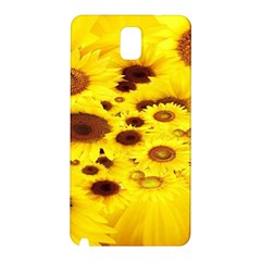Beautiful Sunflowers Samsung Galaxy Note 3 N9005 Hardshell Back Case