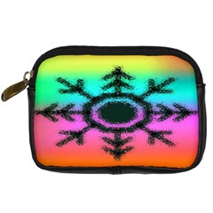 Vector Snowflake Digital Camera Cases