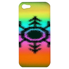 Vector Snowflake Apple iPhone 5 Hardshell Case