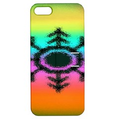 Vector Snowflake Apple iPhone 5 Hardshell Case with Stand