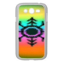 Vector Snowflake Samsung Galaxy Grand DUOS I9082 Case (White)