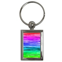 Pretty Color Key Chains (Rectangle)