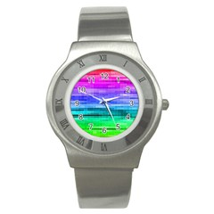 Pretty Color Stainless Steel Watch