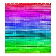 Pretty Color Shower Curtain 66  X 72  (large)