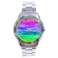 Pretty Color Stainless Steel Analogue Watch