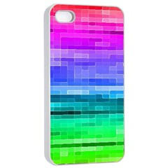 Pretty Color Apple Iphone 4/4s Seamless Case (white)