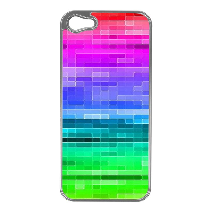 Pretty Color Apple iPhone 5 Case (Silver)