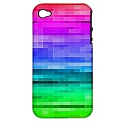 Pretty Color Apple iPhone 4/4S Hardshell Case (PC+Silicone)