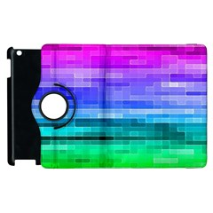 Pretty Color Apple Ipad 3/4 Flip 360 Case