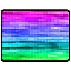 Pretty Color Double Sided Fleece Blanket (Large)