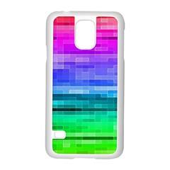 Pretty Color Samsung Galaxy S5 Case (White)