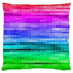 Pretty Color Large Flano Cushion Case (one Side)