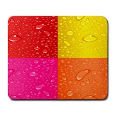 Color Abstract Drops Large Mousepads