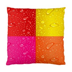 Color Abstract Drops Standard Cushion Case (Two Sides)