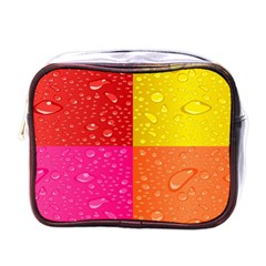 Color Abstract Drops Mini Toiletries Bags