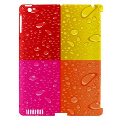 Color Abstract Drops Apple Ipad 3/4 Hardshell Case (compatible With Smart Cover)