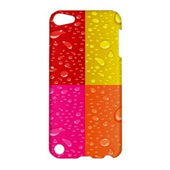 Color Abstract Drops Apple iPod Touch 5 Hardshell Case