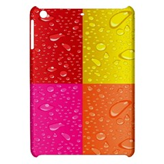 Color Abstract Drops Apple Ipad Mini Hardshell Case