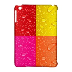 Color Abstract Drops Apple iPad Mini Hardshell Case (Compatible with Smart Cover)