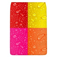 Color Abstract Drops Flap Covers (S)