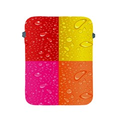 Color Abstract Drops Apple Ipad 2/3/4 Protective Soft Cases