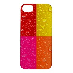 Color Abstract Drops Apple Iphone 5s/ Se Hardshell Case