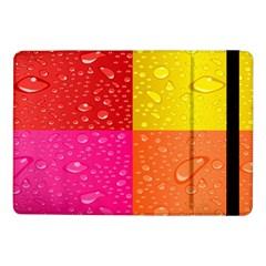 Color Abstract Drops Samsung Galaxy Tab Pro 10 1  Flip Case