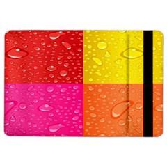 Color Abstract Drops iPad Air 2 Flip