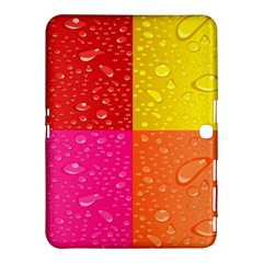 Color Abstract Drops Samsung Galaxy Tab 4 (10.1 ) Hardshell Case