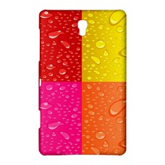 Color Abstract Drops Samsung Galaxy Tab S (8 4 ) Hardshell Case