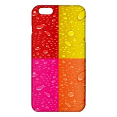 Color Abstract Drops iPhone 6 Plus/6S Plus TPU Case