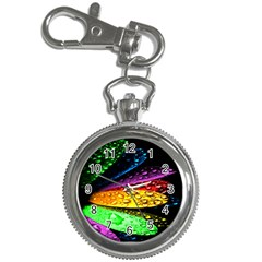Abstract Flower Key Chain Watches