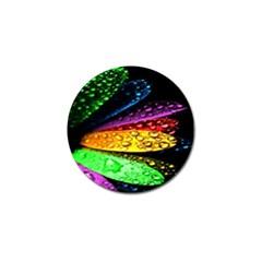 Abstract Flower Golf Ball Marker (10 pack)