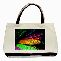 Abstract Flower Basic Tote Bag (Two Sides)