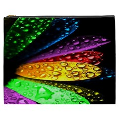 Abstract Flower Cosmetic Bag (xxxl)