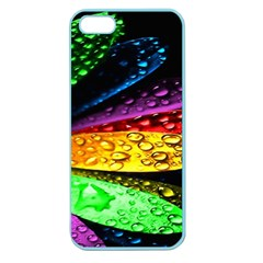 Abstract Flower Apple Seamless iPhone 5 Case (Color)