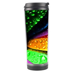 Abstract Flower Travel Tumbler