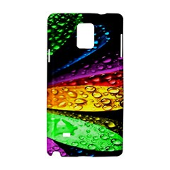 Abstract Flower Samsung Galaxy Note 4 Hardshell Case