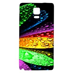 Abstract Flower Galaxy Note 4 Back Case
