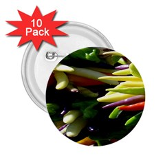 Bright Peppers 2.25  Buttons (10 pack)