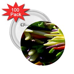 Bright Peppers 2 25  Buttons (100 Pack)