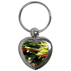 Bright Peppers Key Chains (Heart)