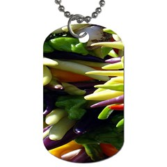 Bright Peppers Dog Tag (One Side)