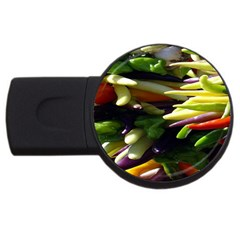 Bright Peppers USB Flash Drive Round (1 GB)