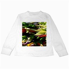 Bright Peppers Kids Long Sleeve T Shirts